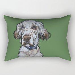 Ollie the English Setter Rectangular Pillow