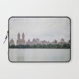 Monochromatic | Moody Architecture Landscape Photography of New York City Central Park Horizon Laptop Sleeve