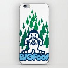 Big Foot iPhone & iPod Skin