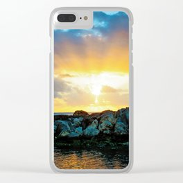 Burst of Light Clear iPhone Case