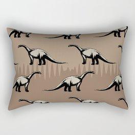ChocoPaleo: Brontosaurus Rectangular Pillow