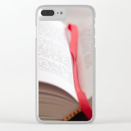 Bible 2 Clear iPhone Case