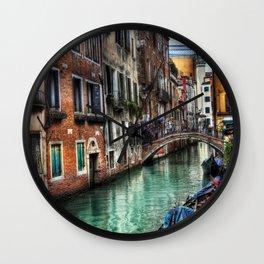 Venice I Wall Clock