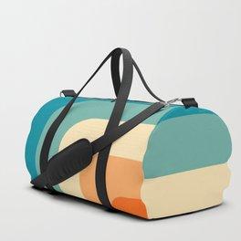 80s Vintage pattern Duffle Bag