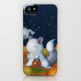 Ghost in the Pumpkins iPhone Case