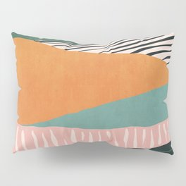 Modern irregular Stripes 02 Pillow Sham
