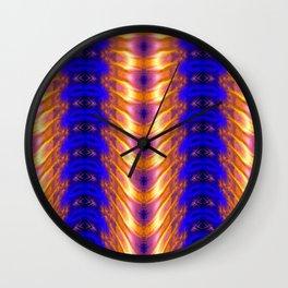 Ribbed Wall Clock