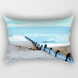 Outlook over the North Sea Rectangular Pillow