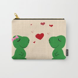 Baby Dinosaur Love Carry-All Pouch