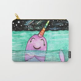 Narwhal Wish Carry-All Pouch