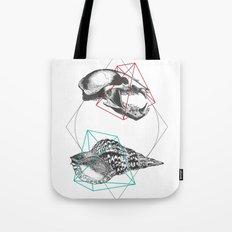 Skull and a Sea Shell Tote Bag
