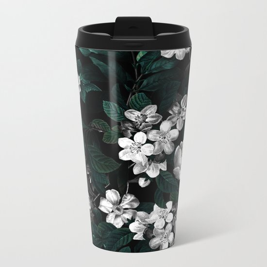 Botanical Night Metal Travel Mug