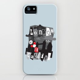 London calling iPhone Case