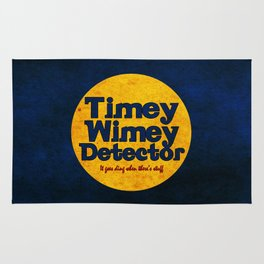 Doctor Who: Timey Wimey Detector Rug