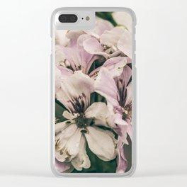Romantic bouquet Clear iPhone Case