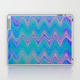 Agate Wave Lilac - Mineral Series 003 Laptop & iPad Skin