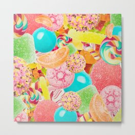 Candy Crush Metal Print