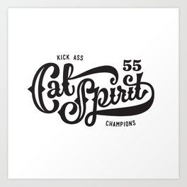 Cal Spirit Art Print