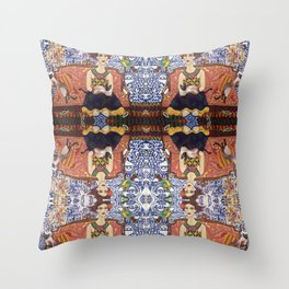 Siamese Willow Throw Pillow