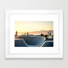Venice Beach Framed Art Print