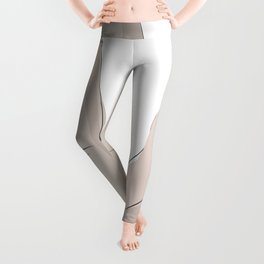 promettre-Pinky Swear line art MINIMAL ILLUSTRATION Leggings