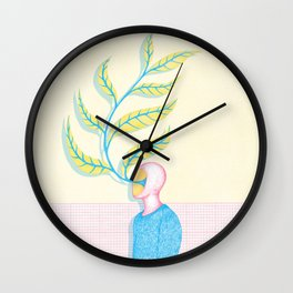 The Renaissance of Yourself Wall Clock