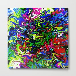 Abstract 4005 Metal Print