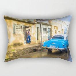 Cuba street Rectangular Pillow