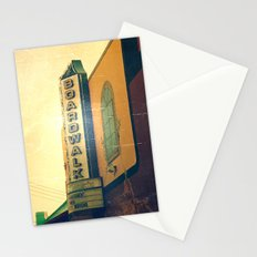 Boardwalk Sign Carolina Beach, NC Stationery Cards