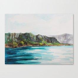Napali Coast Dreaming Canvas Print