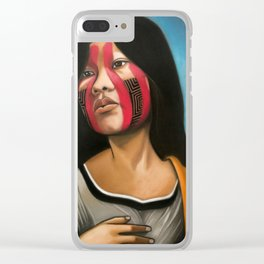 Kayapo Rennaisance Clear iPhone Case