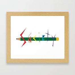 S6 Tee 2 Framed Art Print