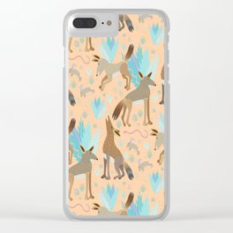Coyote Life Clear iPhone Case