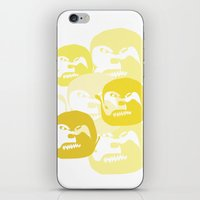one line iPhone & iPod Skins featuring One line by Stefanmp