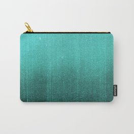 BLUR / abyss / turquoise green Carry-All Pouch
