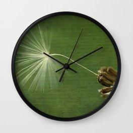 Last Wish Wall Clock