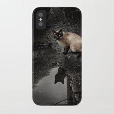 Cat iPhone X Slim Case
