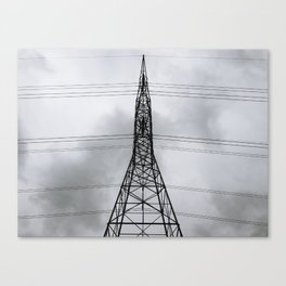 Tall Transmission Tower Thing Canvas Print