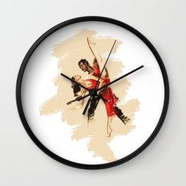 Dip Deep Wall Clock