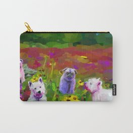 Puppy garden Carry-All Pouch