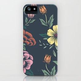 Floral Art #8 iPhone Case