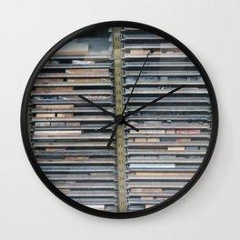 Vintage Printing Press No. 4 Wall Clock