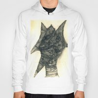 faces Hoodies featuring Faces by Attila Hegedus
