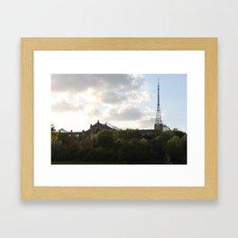 Alexandra palace. Framed Art Print