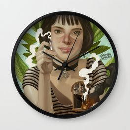 Mathilda - Leon the professional Wall Clock