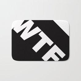 WHITE-WTF Bath Mat
