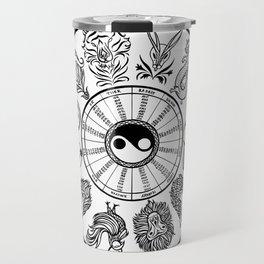 chinese zodiac Travel Mug