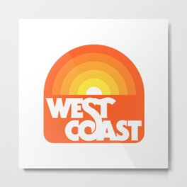 West Coast Metal Print