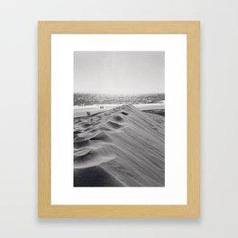 Walking the beach NO1 Framed Art Print