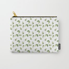 Watercolour Avocado Pattern Carry-All Pouch